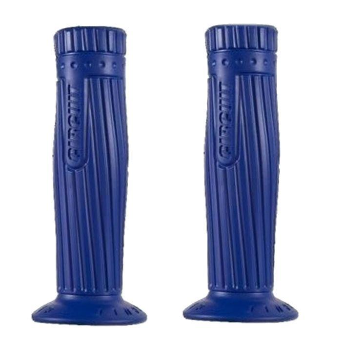 Manopla Borracha Frisada Azul 7/8  - Race Custom