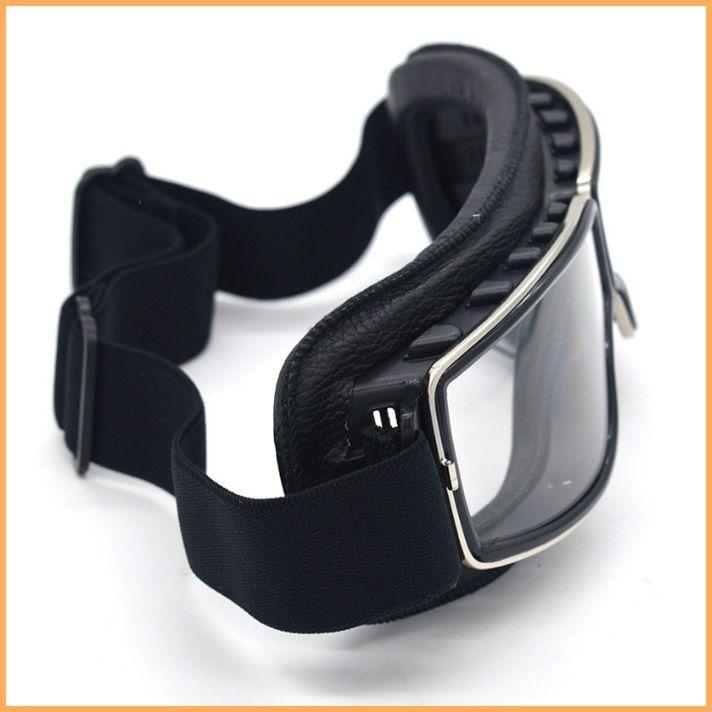 Óculos Aviador Old School Preto Lentes Cristal - Race Custom - Peças ... 025e8da823