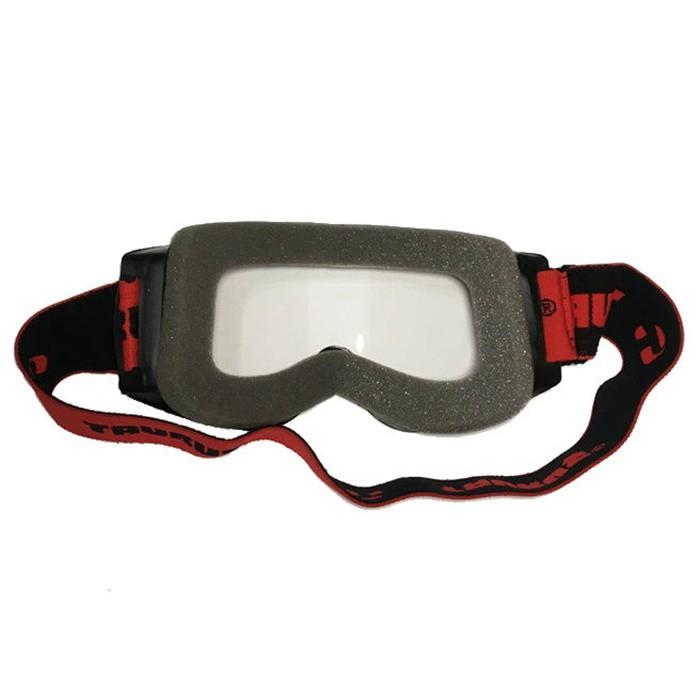 Óculos Proteção Motociclista Preto Lente Cristal   - Race Custom