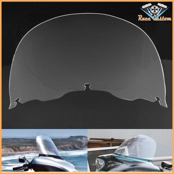 Parabrisa Harley Electra Glide, Street Glide, Ultra Classic 96 a 13 - Cristal - 13 Pol.  - Race Custom