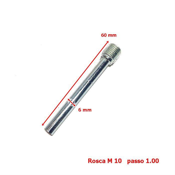 Parafuso Cáliper Pastilha de Freio 60 mm  - Race Custom