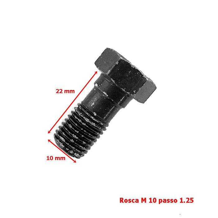 Parafuso Flexível Freio Rosca M10  - Race Custom