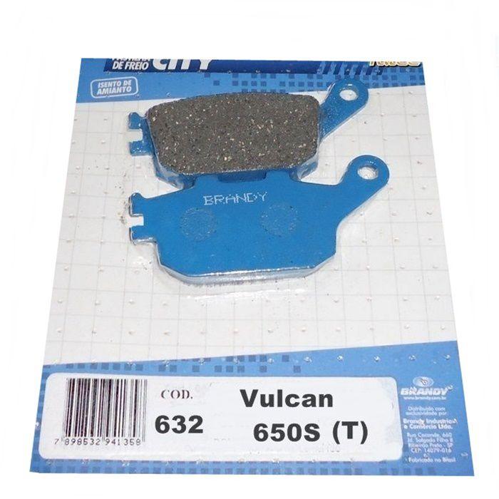 Pastilha de Freio Vulcan S 650 (T)  - Race Custom