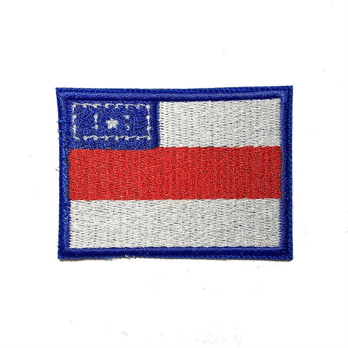 Patch Bordado Bandeira Amazonas - 5 x 7 Cm  - Race Custom