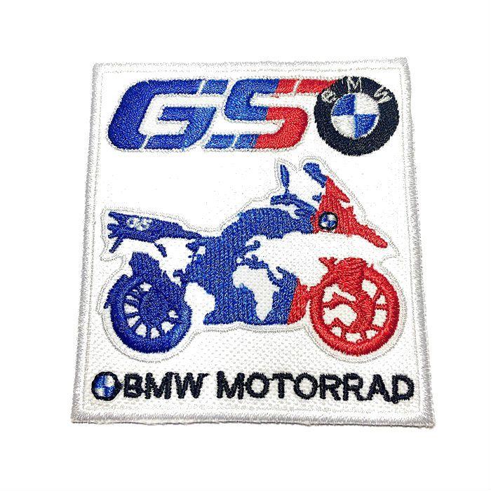 Patch Bordado BMW  Motorrad - 8,5 X 8 Cm  - Race Custom