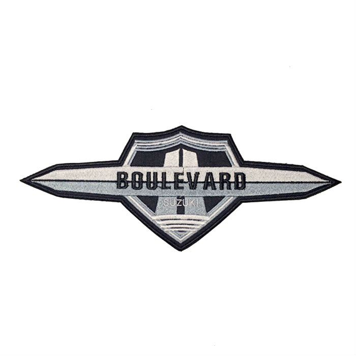 Patch Bordado Boulevard - 12 x 30 Cm  - Race Custom