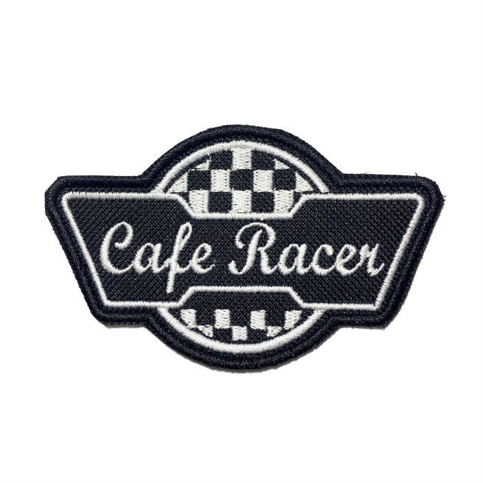 Patch Bordado Cafe Racer  - 6 X 10 CM  - Race Custom