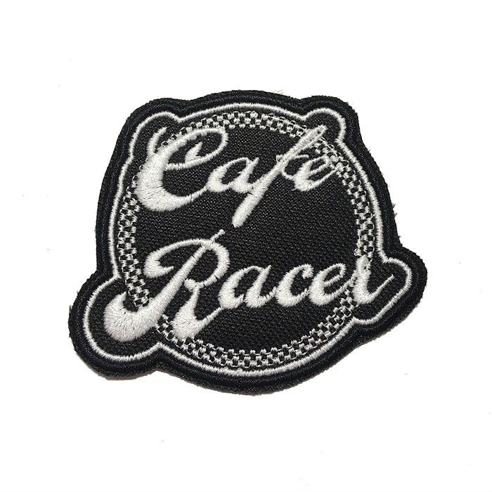 Patch Bordado Cafe Racer - 7 x 8 Cm  - Race Custom