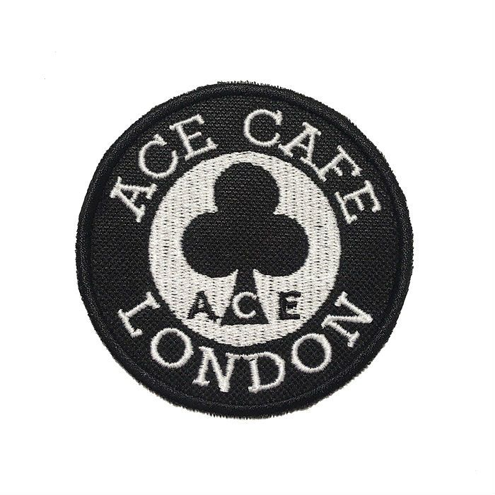 Patch Bordado Cafe Racer London Cafe - 8 X 8 Cm  - Race Custom