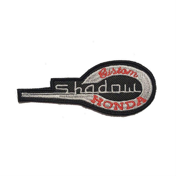 Patch Bordado Honda Shadow - 4 x 10 Cm  - Race Custom
