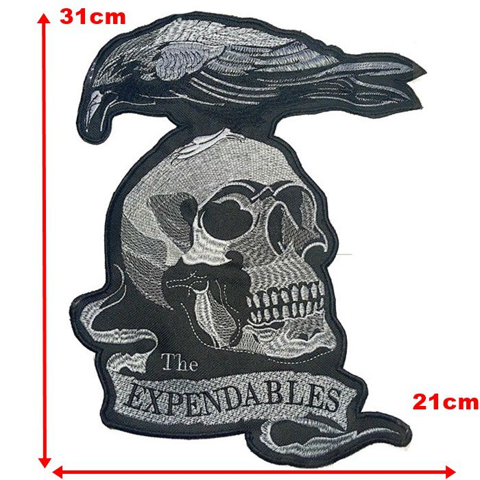Patch Bordado Os Mercenários - 31 x 24 Cm - Sem Termocolante  - Race Custom