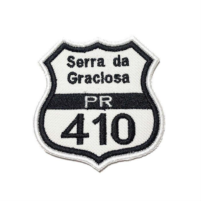 Patch Bordado Serra da Graciosa - 7,5 x 7 Cm  - Race Custom