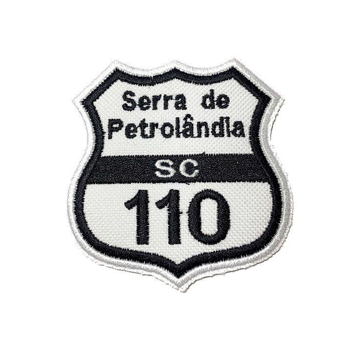 Patch Bordado Serra da Petrolândia - 7,5 x 7 Cm  - Race Custom