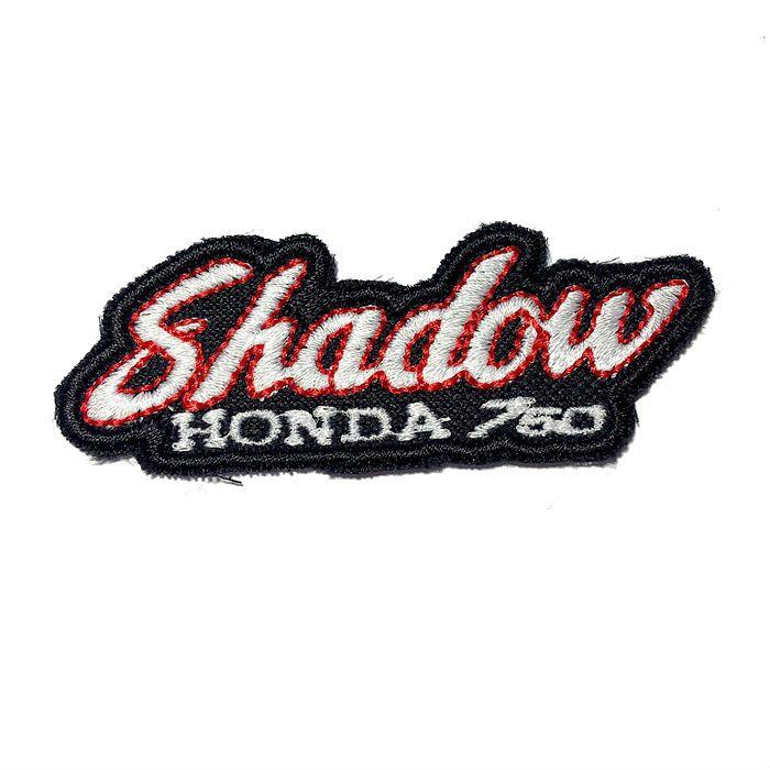 Patch Bordado Shadow 750 - 3 x 8 Cm  - Race Custom