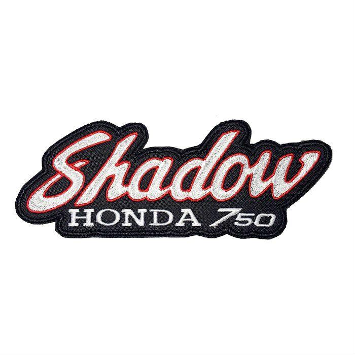 Patch Bordado Shadow 750 - 7,5 x 20 Cm  - Race Custom
