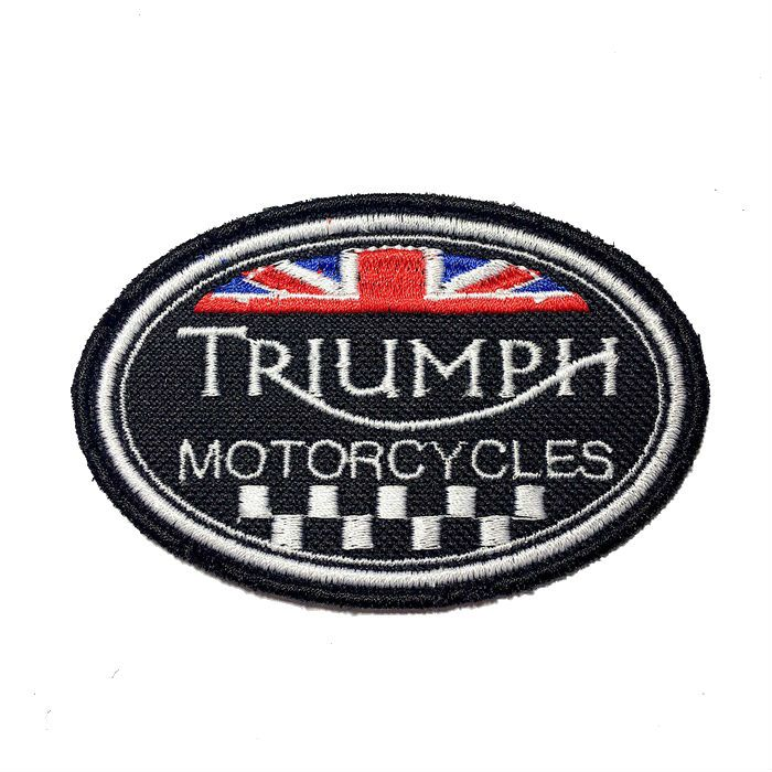 Patch Bordado Triumph - 6 X 9 CM  - Race Custom