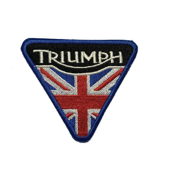 Patch Bordado Triumph - 7 X 8 Cm  - Race Custom