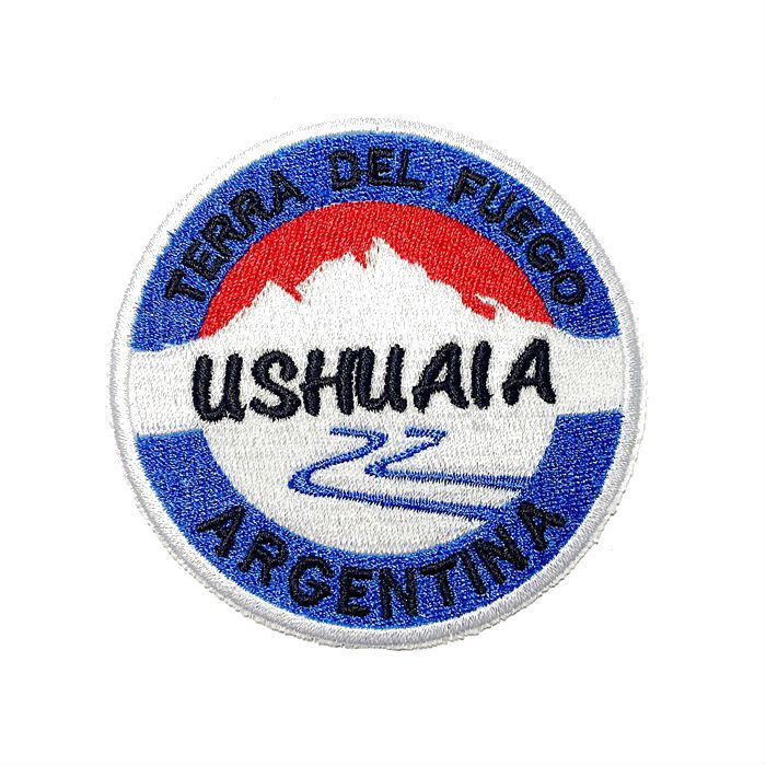 Patch Bordado Ushuaia - 8 x 8 Cm  - Race Custom