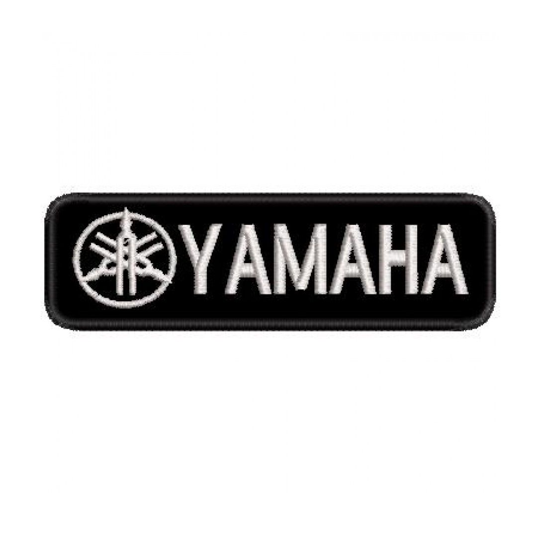 Patch Bordado Yamaha - 3 X 10 CM  - Race Custom