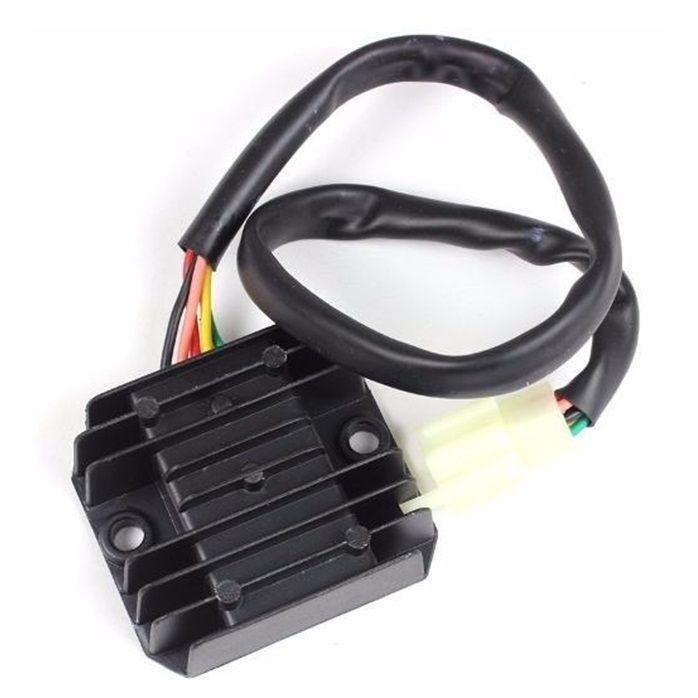 Retificador Regulador Voltagem Dafra Kansas 150 - 5 Pinos  - Race Custom