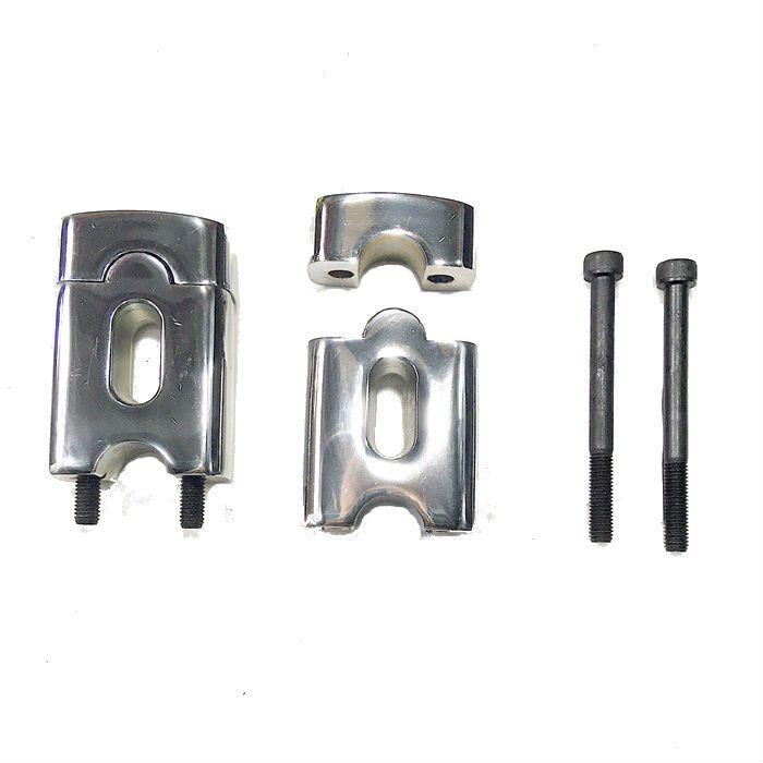 Riser Alongador 6 cm para Guidão 7/8 - Cromado - PAR  - Race Custom
