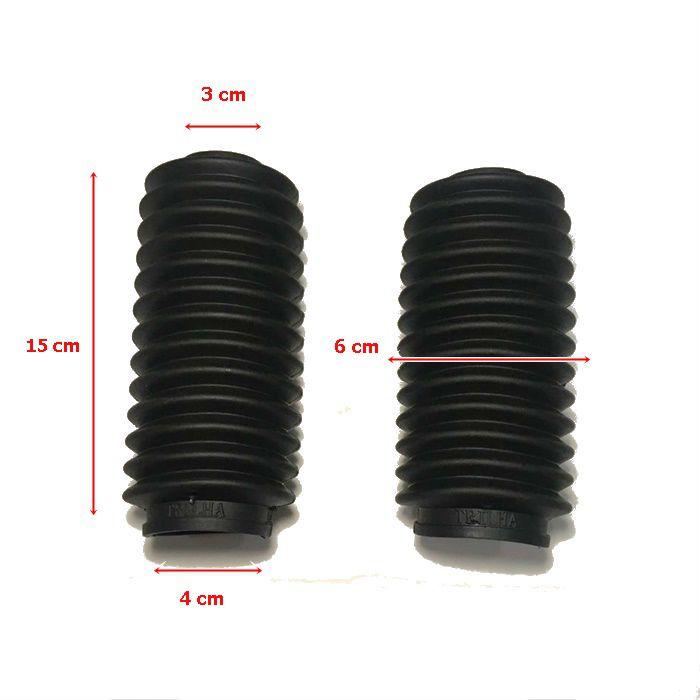 Sanfona Suspensão Dianteira 13 Dentes  - Race Custom