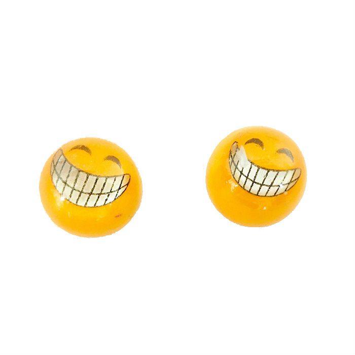 Tampa para Valvula Ventil Par - Smile Sorriso  - Race Custom