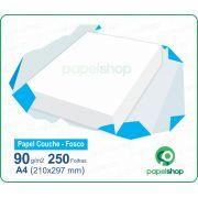 Papel Couche Fosco 90 Gr. 210x297 - 250 Fls.