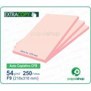 Papel Autocopiativo CFB Rosa 218x318  - 250 Fls.