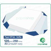 Papel OffSet Sulfite - 120 gr. - A4 (210x297mm) - 250 fls.
