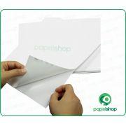 Papel Adesivo Brilho - A4 - 100 Fls