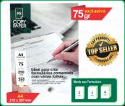 Papel Autocopiativo - COPY PAPER - A4 - 1ª Via Branca - 2ª Via Amarela