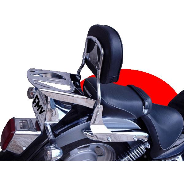 Encosto Traseiro com Bagageiro FMV para Mirage 250cc  - Fabiana Dubinevics - Ofertão Virtual