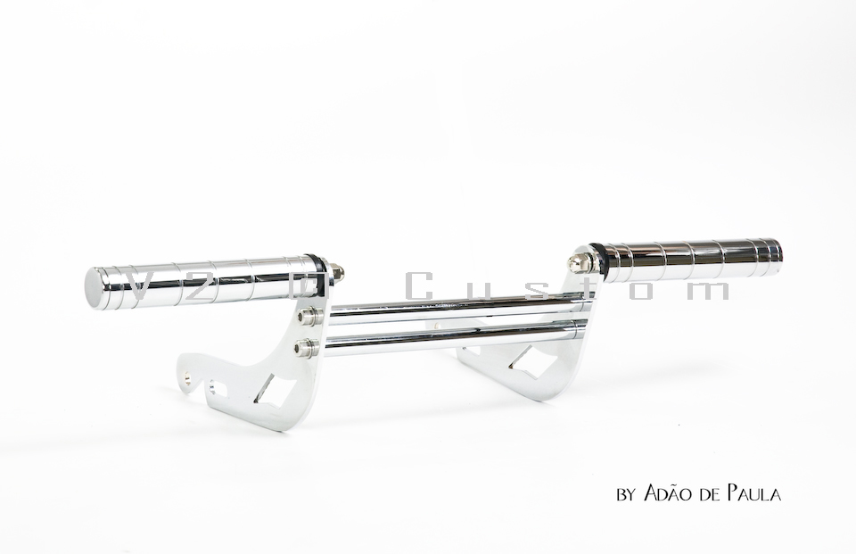 Protetor de Motor com pedaleiras V2 Custom para Virago 250  - Fabiana Dubinevics - Ofertão Virtual