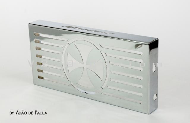 Protetor de Radiador V2 Custom para Shadow 600  - Fabiana Dubinevics - Ofertão Virtual