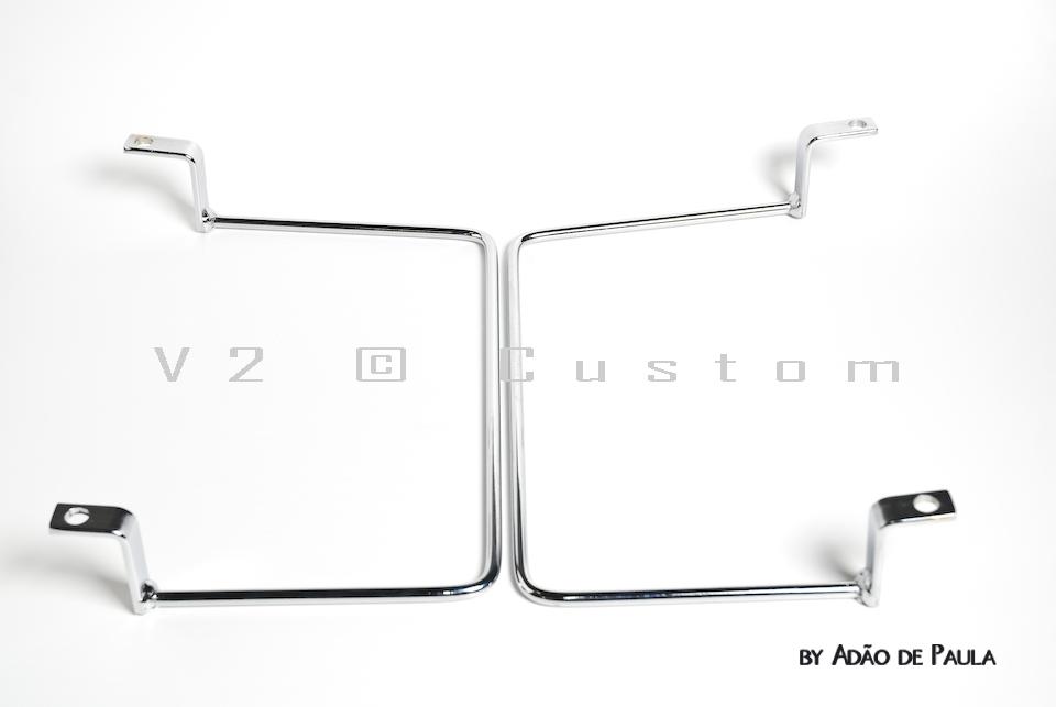 Suporte de Alforje V2 Custom para Boulevard M800  - Fabiana Dubinevics - Ofertão Virtual