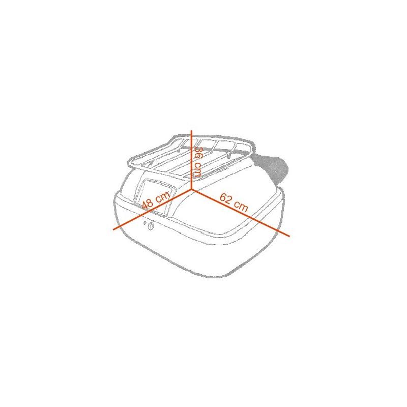 Baú Traseiro modelo BT9000 em fibra de vidro  - Fabiana Dubinevics - Ofertão Virtual
