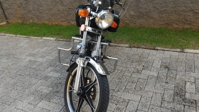 """Protetor de Motor Dalavas modelo """"Escudo"""" para intruder 125cc  - Fabiana Dubinevics - Ofertão Virtual"""