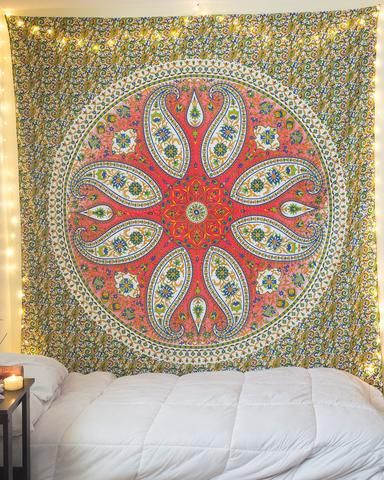 Bed Cover Casal Mandala Cashmere