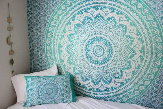 Bed Cover Casal Mandala