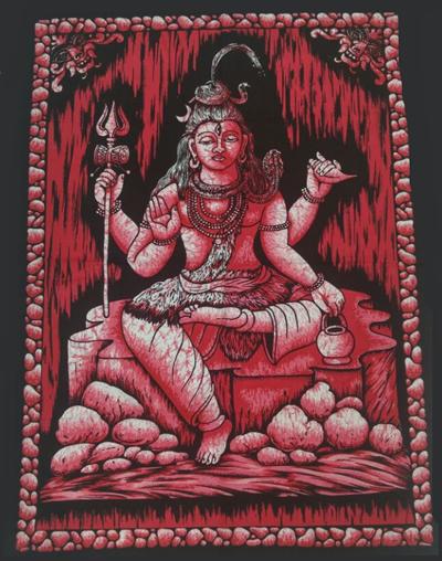 Painel Shiva Vermelho