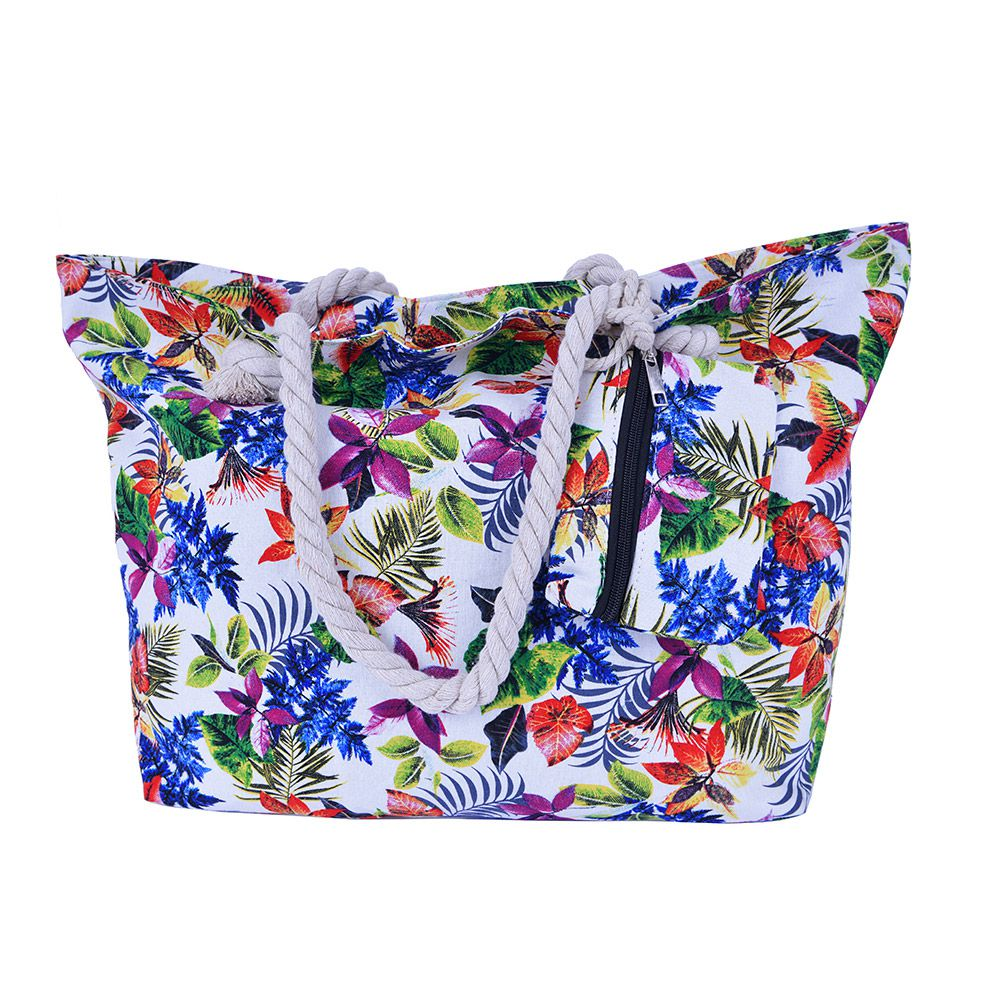 Bolsa de praia Floral
