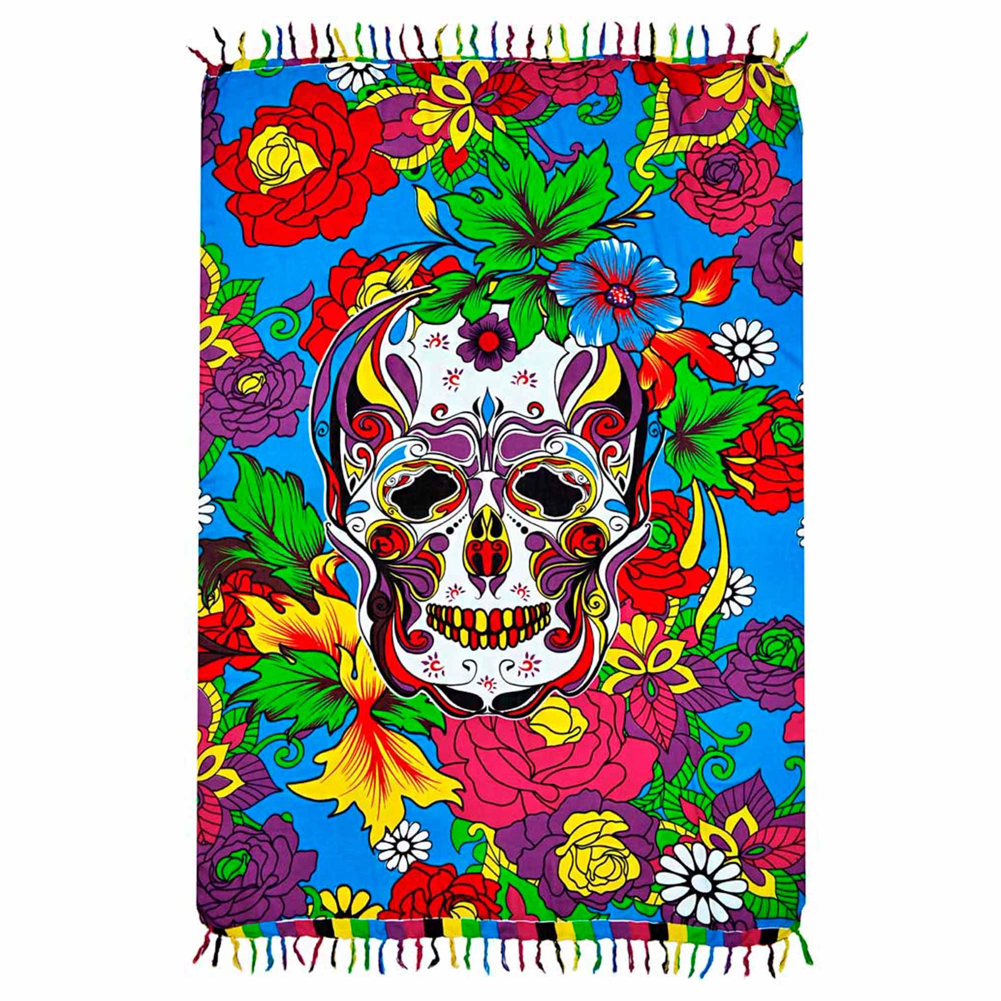 Canga Big Skull Flower