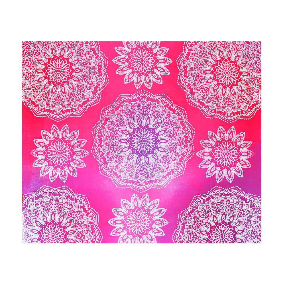 Canga Casal Com Capa de Almofada Mandala Multi