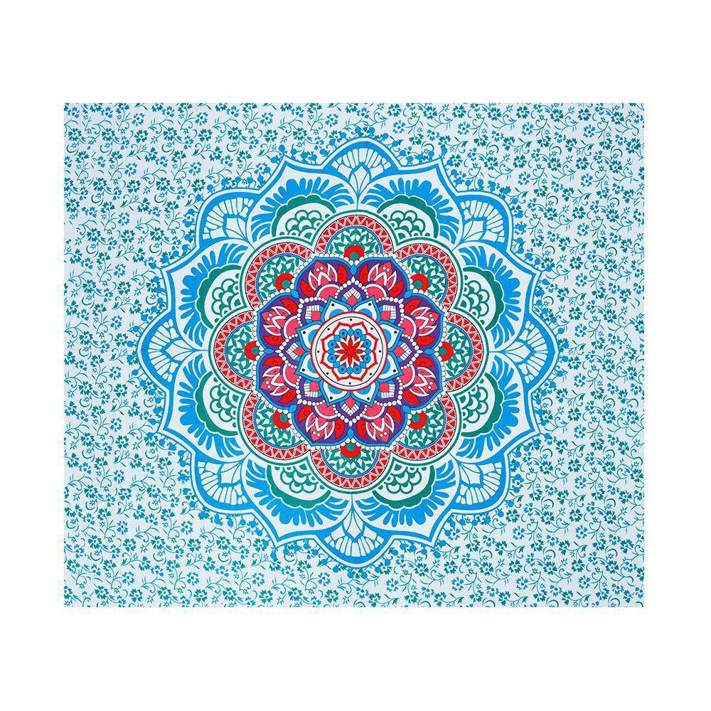 Canga Casal Mandala Floral Colorida