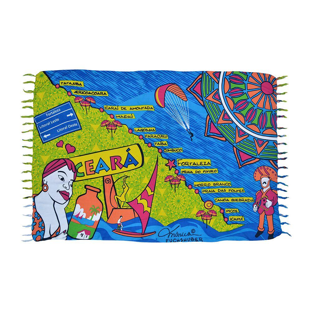 Canga Ceara Map