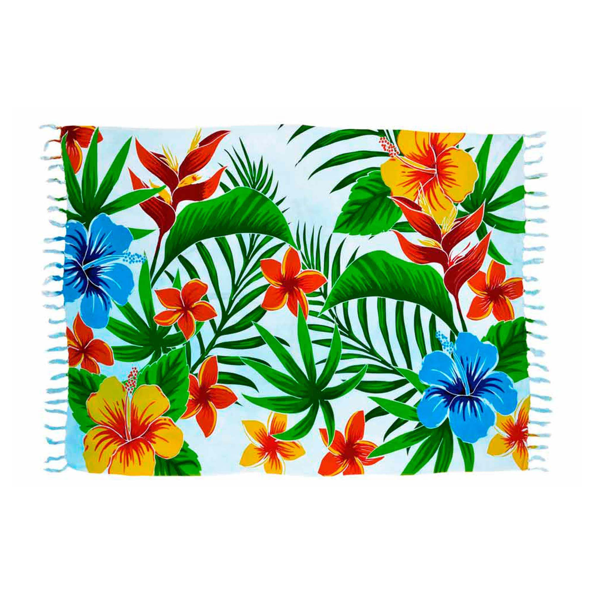 Canga Floral Hibiscos
