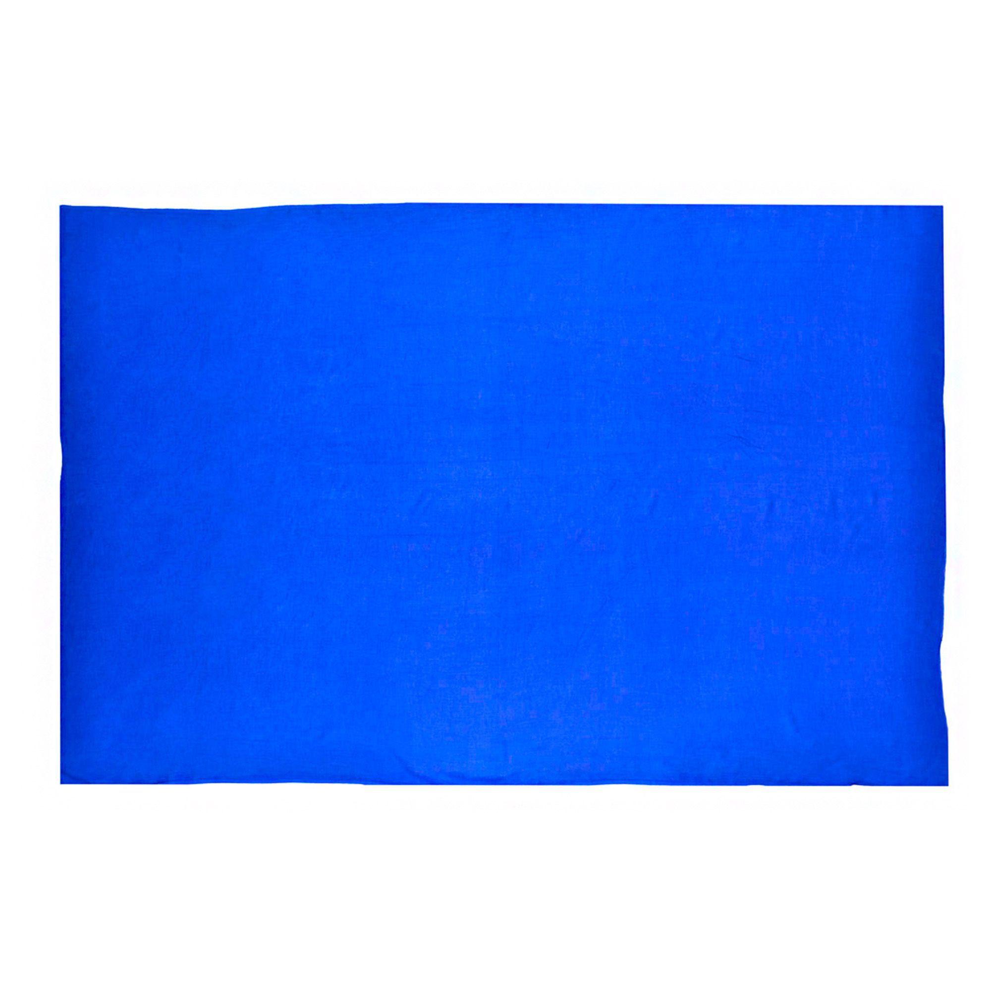 Canga Lisa Sem Franja Azul