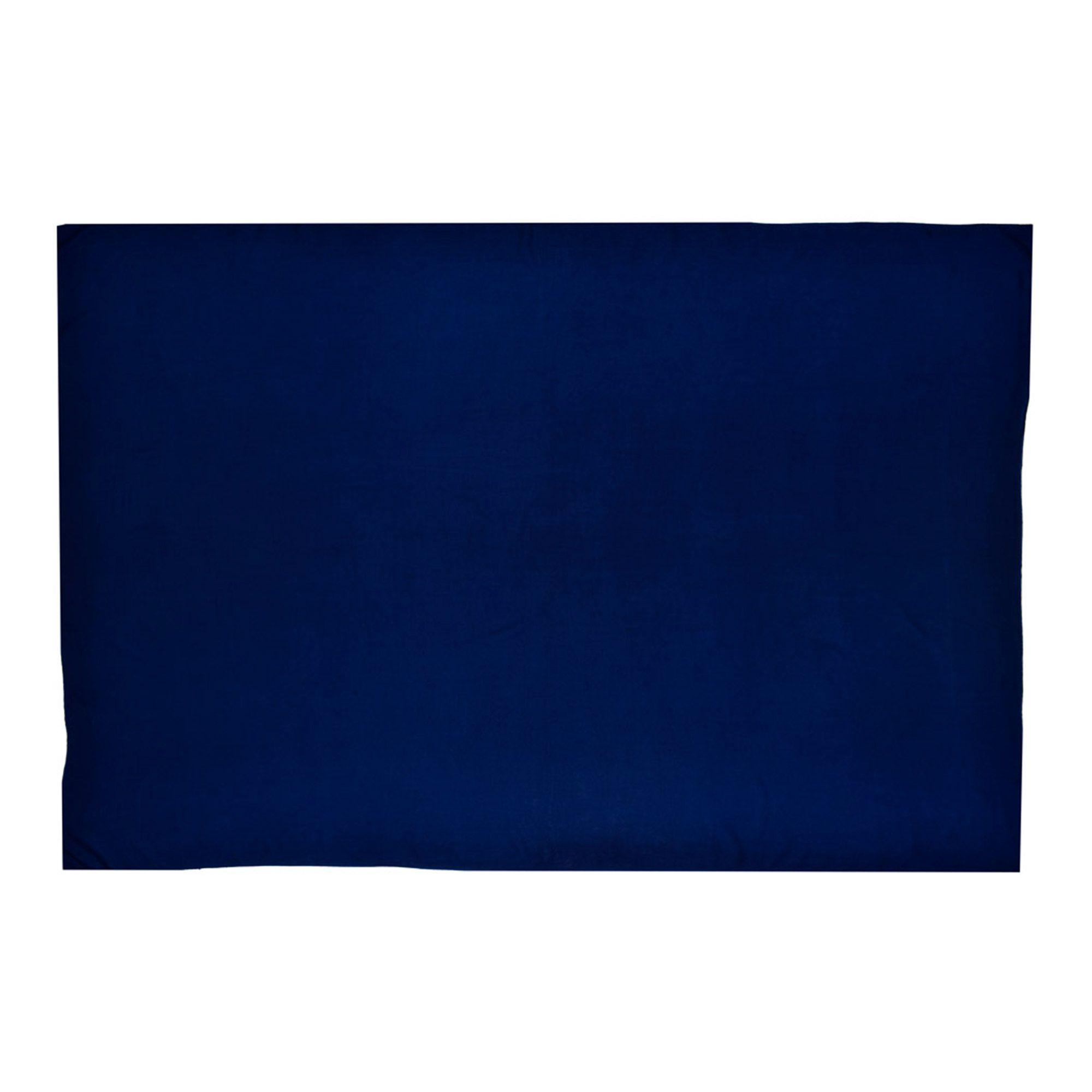 Canga Lisa Sem Franja Azul Marinho