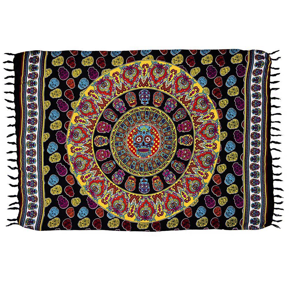Canga Mandala Caveira Mexicana